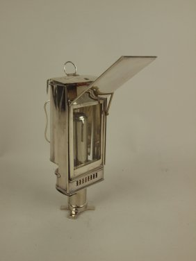Sheffield Rare English Traveling Lantern
