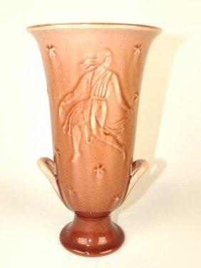 """Rookwood Art Pottery Vase, #6529, 1946, 9 1/2"""""""