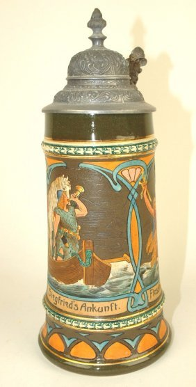 Mattlach German Stein, #1422,9 1/2""
