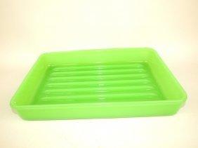 Jadeite Baking Dish