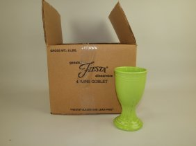 Fiesta Post 86 Set Of 4 Wine Goblets