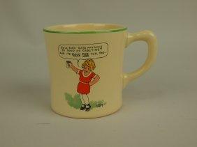 Homer Laughlin Ovaltine Mug