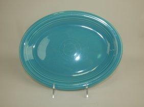 Fiesta Platter, Turquoise