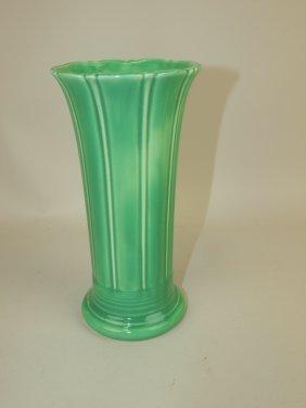 """Fiesta 8"""" Flower Vase, Green, Mint"""
