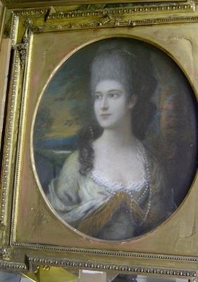 BRITISH SCHOOL (18th Century) PORTRAIT OF A LADY,
