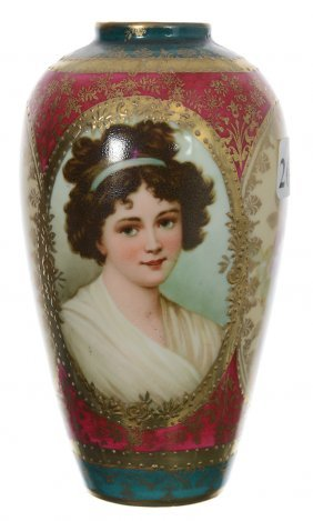"5"" Royal Vienna Mold #910 Vase"