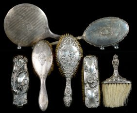 (7) Sterling Vanity Items