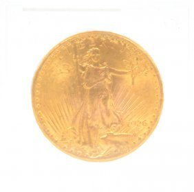 Original 1926 United States St. Gaudens Double Eagle