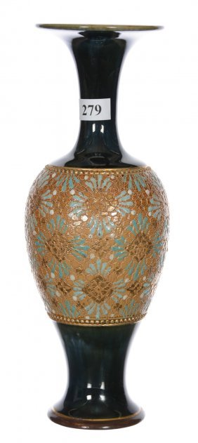 "9 1/2"" Royal Doulton Slaters Art Pottery Vase"