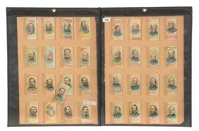 "(49) Advertising ""short History"" Booklets Of Generals"