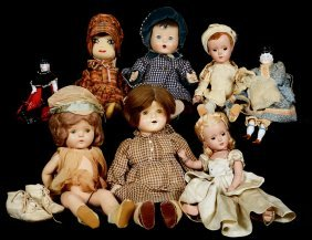 (8) Dolls Including