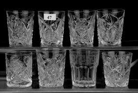 (8) Shot Glasses Including: