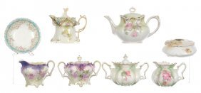 (8) Assorted R.s.prussia Items Including -