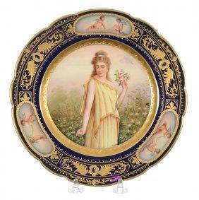 "9"" Beehive Portrait Plate"