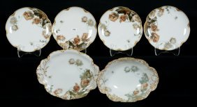 Six Piece Haviland Limoges Set