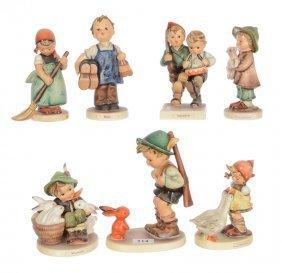 (7) Hummel Figurines Including