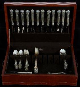 (84) Piece Set Of Gorham Sterling Flatware In Chantilly