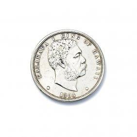 King Kalakaua Coin