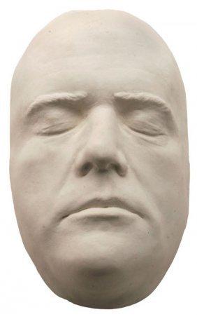 Mel Gibson Plaster Lifecast