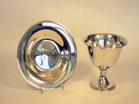 Two Early Florida Trophies, One Of Don Budge