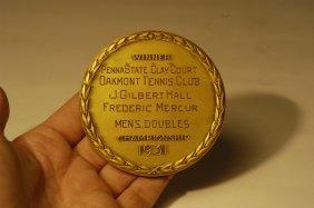 1931 USLTA Golden Jubilee Medallions Belonging To