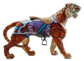 Carousel Tiger, Gustav Dentzel