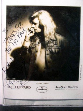 Def Leppard- Steve Clarke