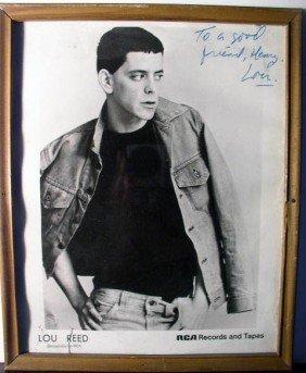 Peter Frampton, Lou Reed