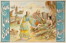 Chung Ling Soo, Woman In Shell