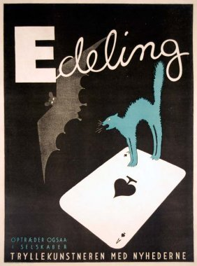 Edeling, Art Deco Cat