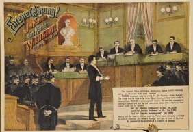 Houdini In The German Courtroom, 1902