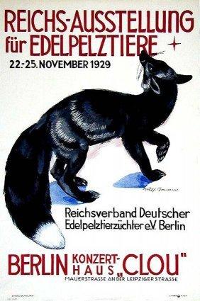 Reichs-Ausstellung F�r Edelpelztiere