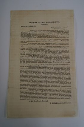 War Of 1812 Broadside