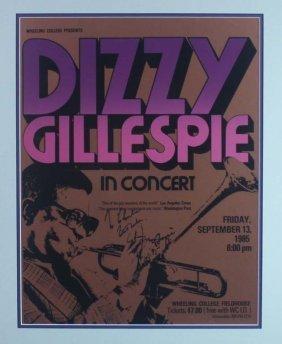 Dizzy Gillespie Poster