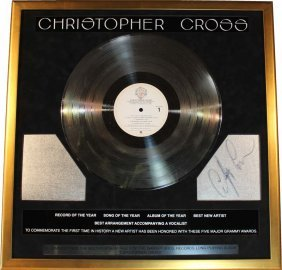 Christopher Cross: Platinum Record