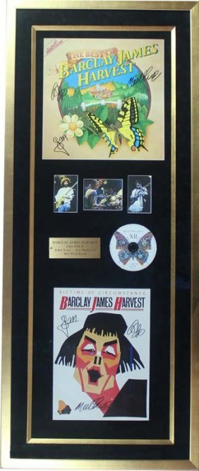 The Best Of Barclay James Harvest: Album And Poster