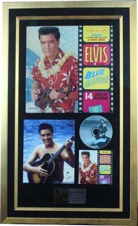 Elvis Presley: Blue Hawaii (album And Photo)