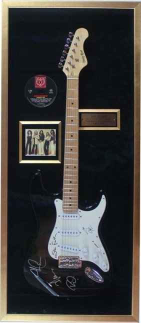 Electric Guitar Signed By Journey