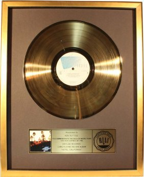 The Eagles: Gold Record - Riaa Certified
