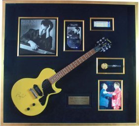 Billy Joel Autographed Items