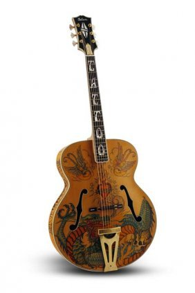 One-of-a-kind 2001 Gibson Tattoo Super 400