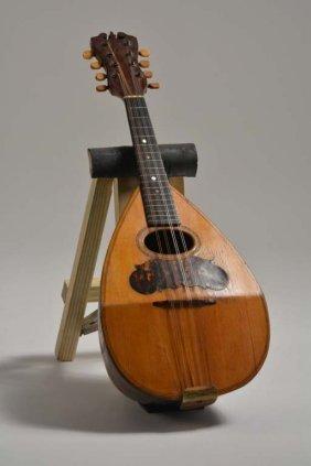 C. 1893 Joseph Bohmann Bowlback Mandolin, Lowenstein