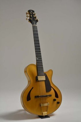 Guitares La Fee Custom Model Lombardine, George Benson