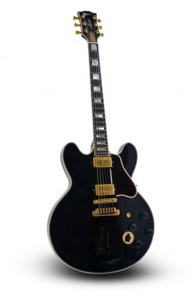 Signed 1998 Gibson Bb King Lucille Custom