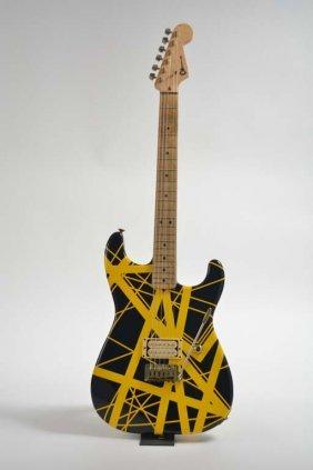 Eddie Van Halen-owned 1982 Charvel Van Halen Model