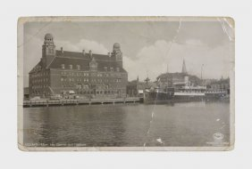 Postcard From Duke To Bernice Wiggins From Stockholm