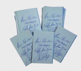 Box Of Duke Ellington's Personally Designed Annual