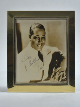 Photograph Of Duke Signed To Cousin Aida