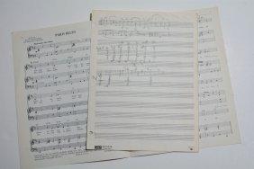 """""""paris Blues"""" Theme From Paris Blues, Sheet Music"""