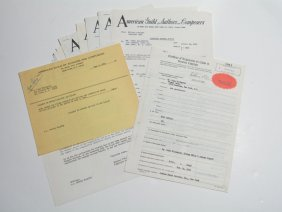 """mood Indigo,"" Assorted Documents"